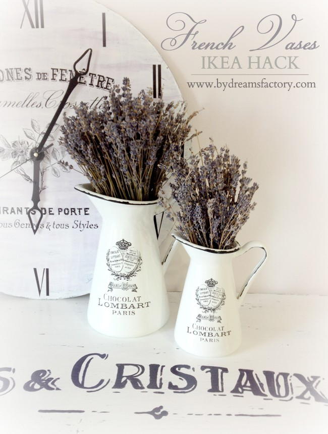 Diy French Vases Ikea Hack