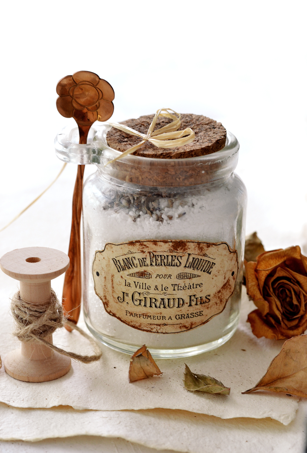 DIY Faux Rusted French Labels