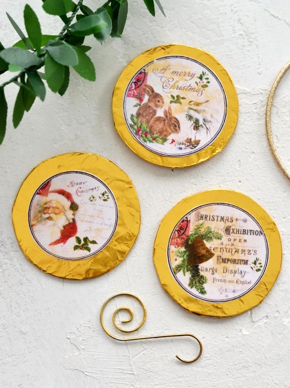DIY Etichete Vintage Aurite pentru Craciun + descarcare gratuita