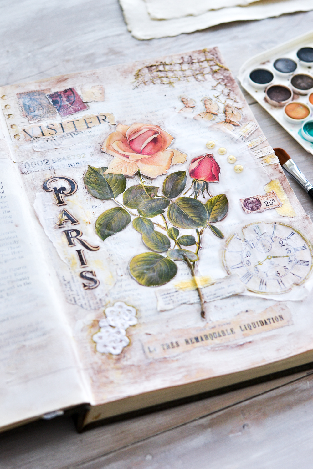 How To Make An Altered Book Art Journal
