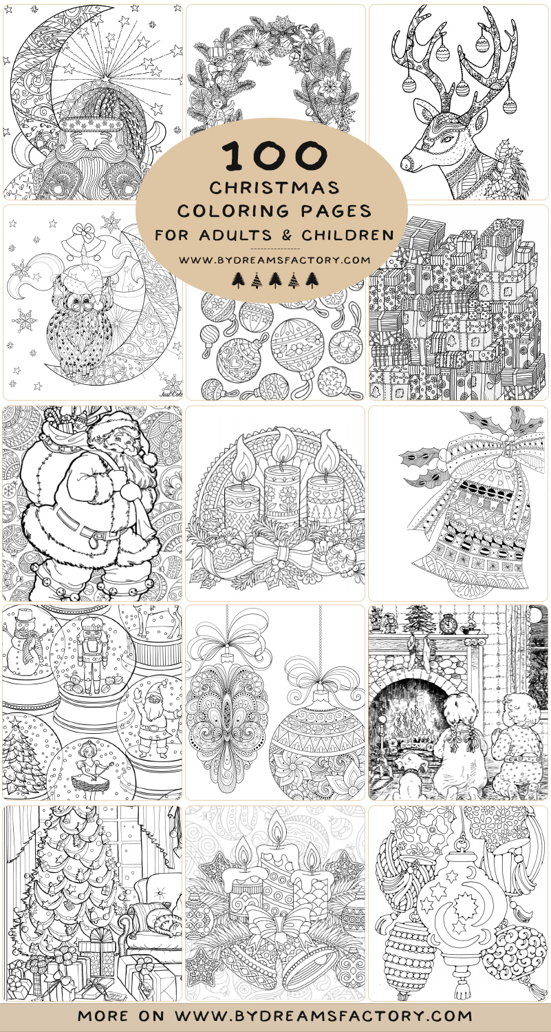 free printable christmas coloring pages for preschool لم يسبق له ... | 1499x801