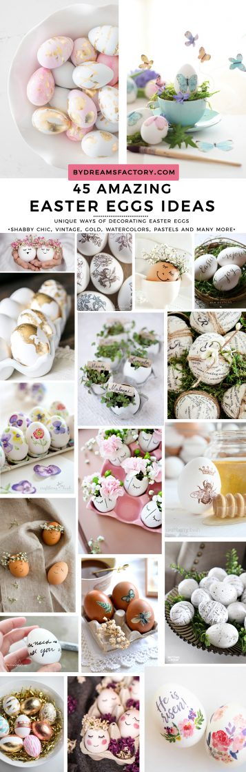 45 Amazing Easter Eggs Ideas