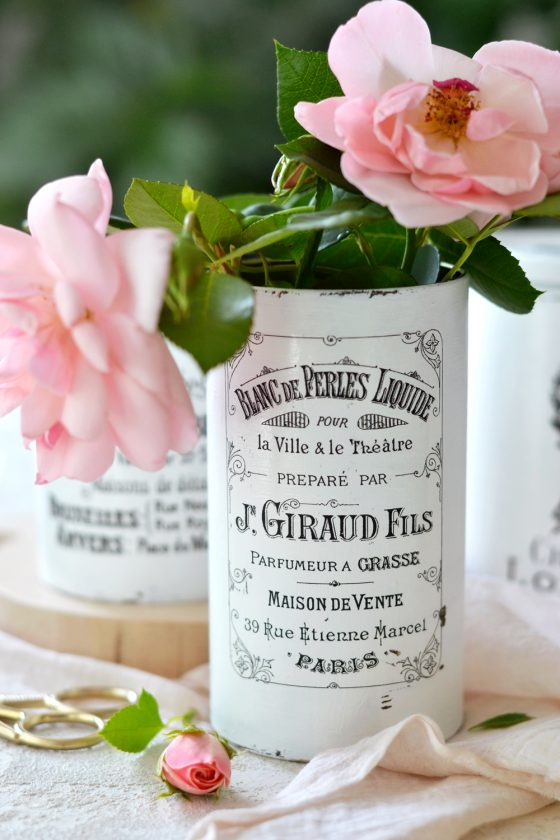 Vintage French Recycled Containers