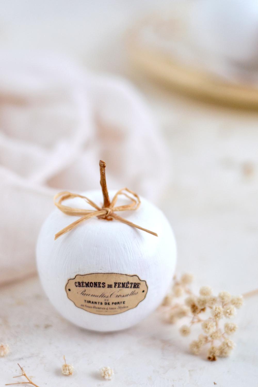 DIY Faux Ceramic French Apples